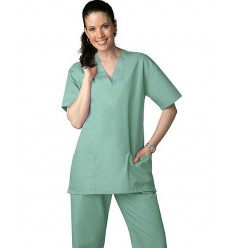 Costum Medical Uni Clasic Dama - XS - XXXL.