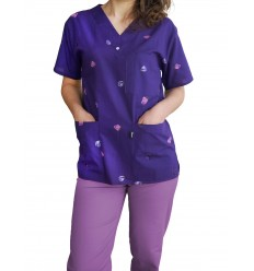 Costum Medical Imprimat Dalia