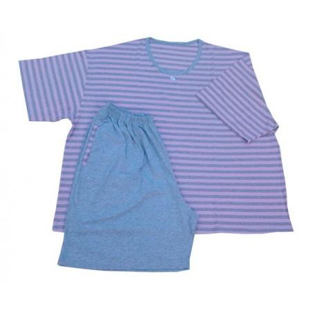 Pijama Dama Maneca Scurta