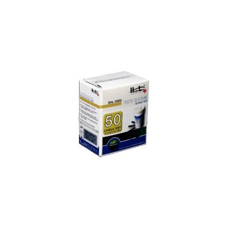 Teste Glicemie Healthy Line SHL GS50