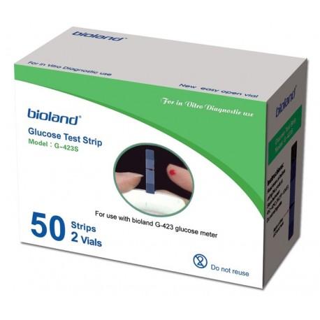 Teste Glicemie Bioland G423S
