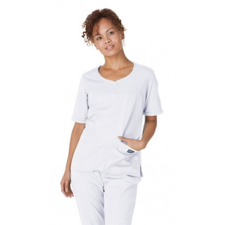 Bluza Medicala Cherokee Whites Novelty V-Neck Top
