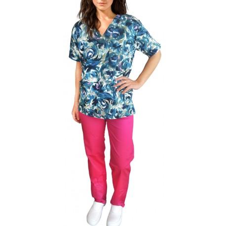 Costum Medical Imprimat RoseMary