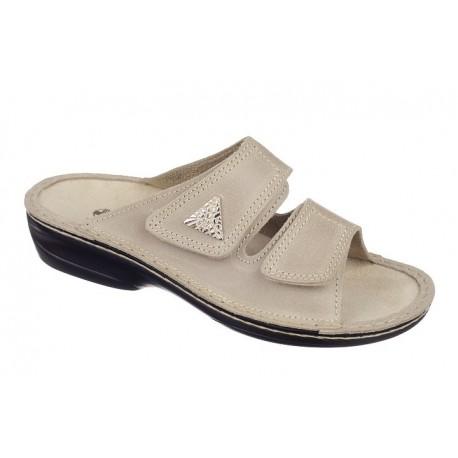 Papuci piele ortopedici - OrtoMed 3700 012/P53/M64N